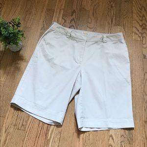 Talbots 14w stretch woman shorts
